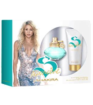 Pack Colonia shakira Aquamarine 50mL + body loción hidratante 100m